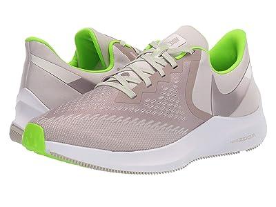 Nike Air Zoom Winflo 6 (Desert Sand/Pumice/Electric Green) Men