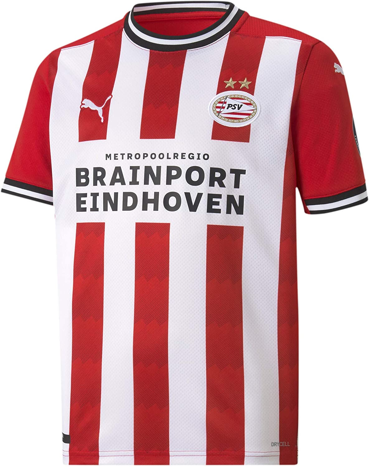 PUMA 2020-2021 25% OFF PSV Eindhoven Home T-Shirt Long-awaited Soccer Jersey Football