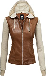 13f88998f Amazon.com: Browns - L / Leather & Faux Leather / Coats, Jackets ...