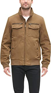mens Water and Wind Resistant Performance Bomber Jacket (Standard and Big & Tall)