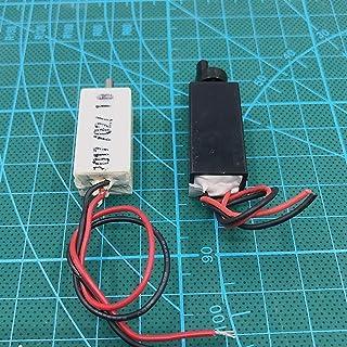 JINchao-DCモーター 2ピーススモールミニN20ギアモーター、プラスチックケースモーターDIYのおもちゃ、DC 1.5V-6V遅いスピード高トルク電動機 インストールが簡単 (Speed(RPM) : A 2pcs)
