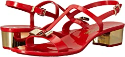 Salvatore Ferragamo - PVC Thong with Heel