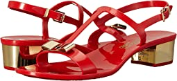 Salvatore Ferragamo PVC Thong with Heel