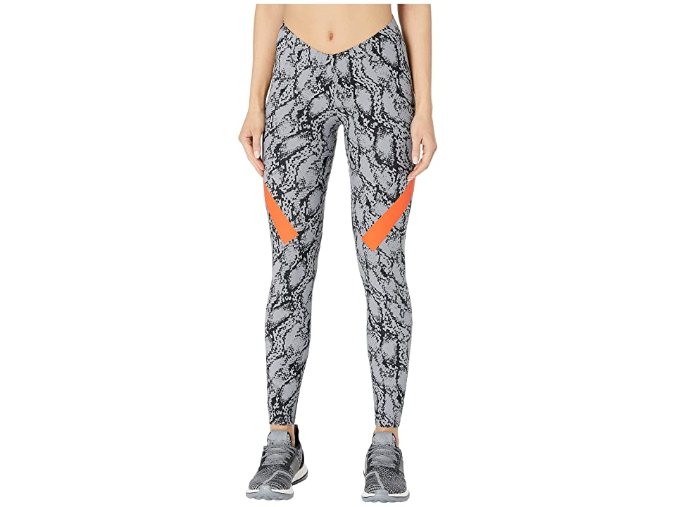 Image of adidas by Stella McCartney Alphaskin Tights DT9463 (Grey/Black) Women's Casual Pants