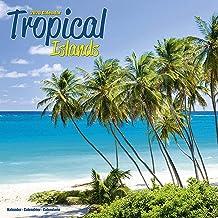 Beaches Calendar - Calendars 2019 - 2020 Wall Calendars - Sunset Calendar - Photo Calendar - Tropical Islands 16 Month Wall Calendar by Avonside (Multilingual Edition)