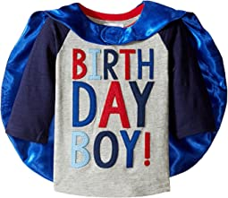 2 Birthday Boy Cape T-Shirt  (Toddler)