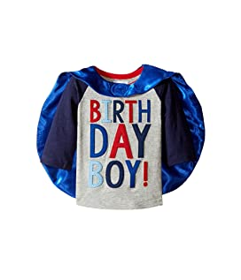 2 Birthday Boy Cape T-Shirt (Toddler)