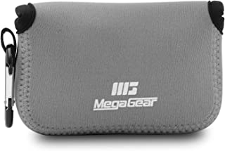 MegaGear ''Ultra Light'' Neoprene Camera Case Bag for Canon G16, G15, Sx170, Sx160, Sx150, Sony DSC-RX100M II case, Sony DSC-HX50, Nikon P7800, Canon PowerShot SX700, cameras (Grey)
