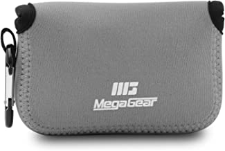 MegaGear MG805 Ultra Light Neoprene Camera Case compatible with Fujifilm FinePix XP140, XP130, XP120, XP90 - Gray