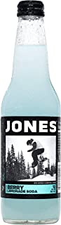 Jones Soda 12-Pack of Berry Lemonade Jones Pure Cane Soda