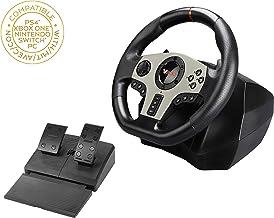 Volante de carreras V900 con pedales y palancas de cambio para multiplataforma