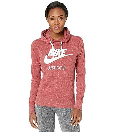 Nike Sportswear Gym Vintage HBR Hoodie (Cedar/Sail) Women