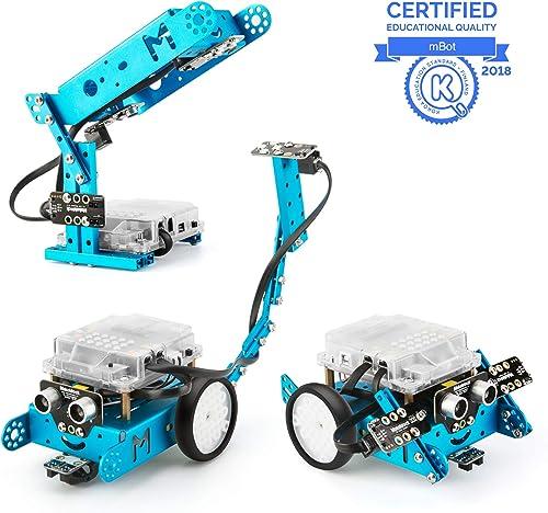 Makeblock mBot Robot Pack Complémentaire, Son et Lumière Interactifs, Robotique Pack Complémentaire 3-en-1