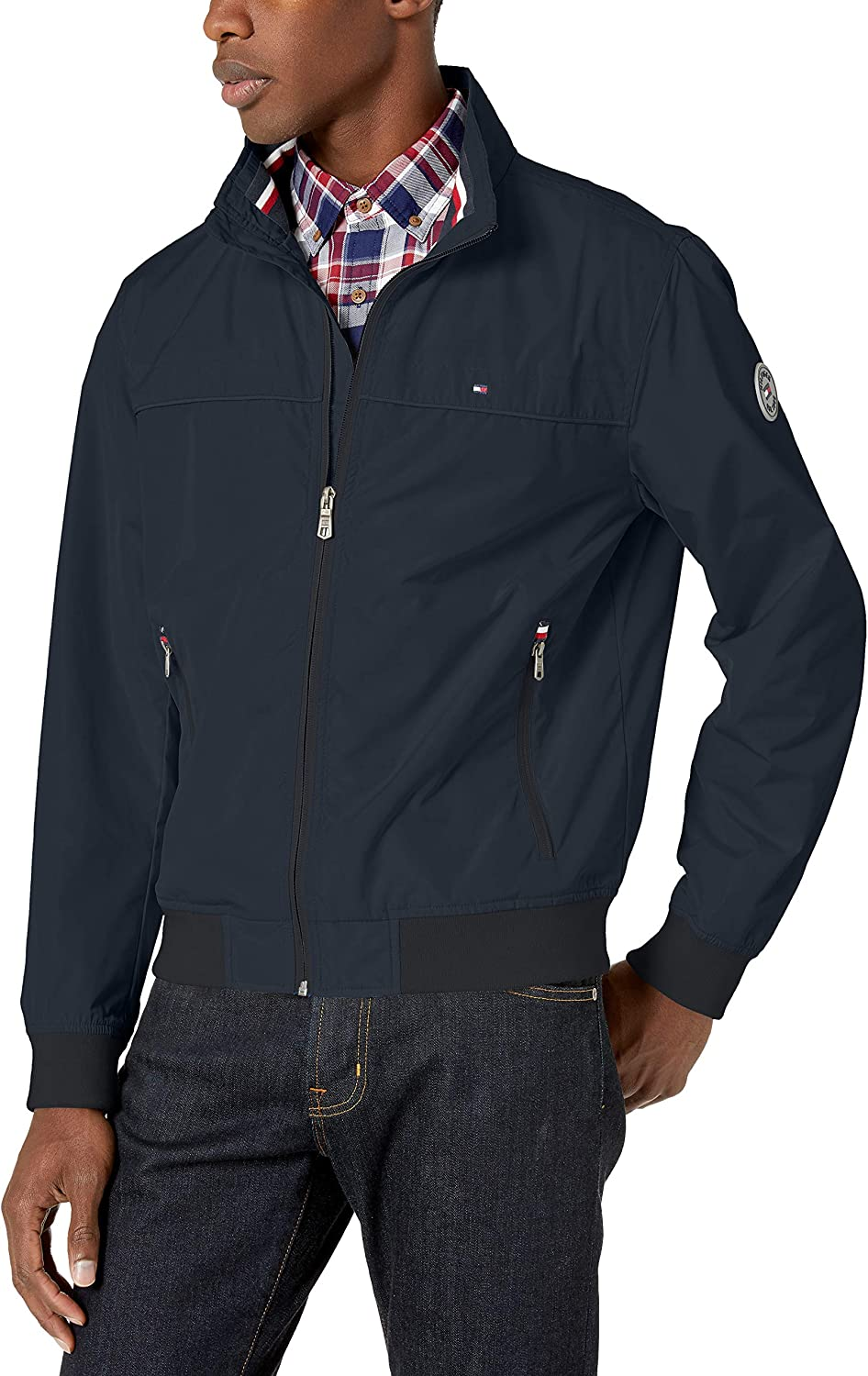 Tommy Hilfiger Limited time for free Oklahoma City Mall shipping Men's Performance Bomber Memory Jacket Faux