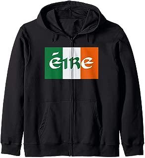 Eire Ireland Zip Hoodie