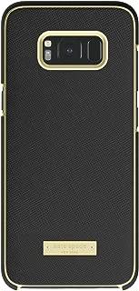kate spade new york Wrap Case for Samsung Galaxy S8+ - Saffiano Black