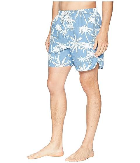Swim Tree Waterman Palm azul Quiksilver Shorts sombra Volley Eqv7wI