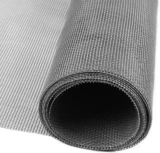 網戸 網 防虫ネット 張替え防虫網 グラスファイバー製網戸 グレー 122×252cm