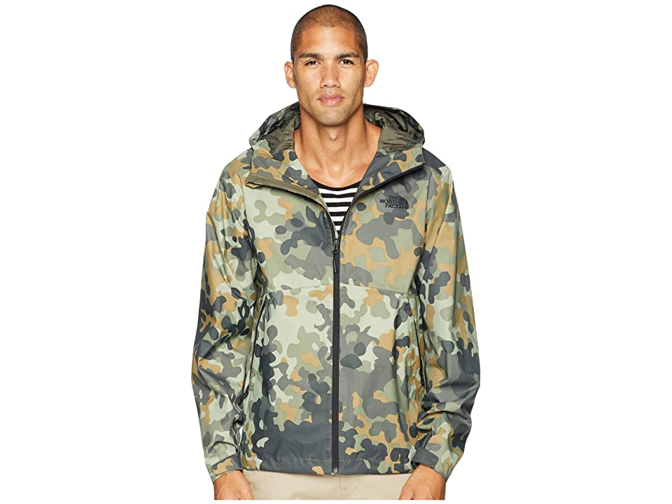 The North Face Millerton Jacket (New Taupe Green/Macrofleck Camo Print) Men