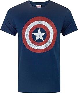 Marvel Captain America Mens` Avengers Captain America T-Shirt
