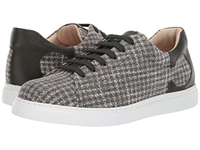 Canali Houndstooth Sneaker (Green) Men