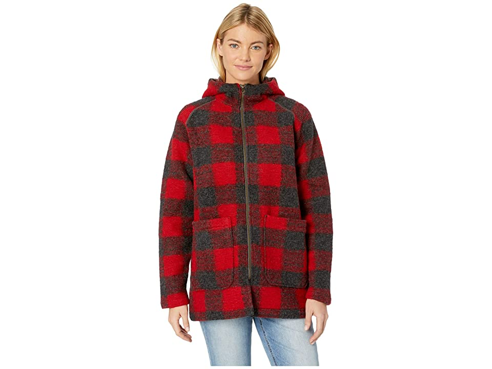 Woolrich Chilly Days Hooded Jacket (Red Heather) Women