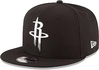 New Era NBA Houston Rockets Men's 9Fifty Snapback Cap, One Size, Black