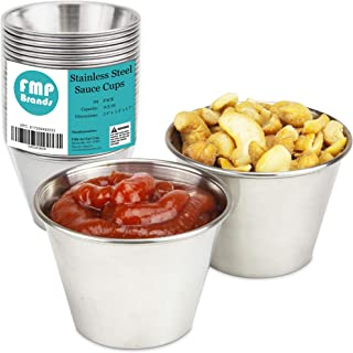 Best stainless steel dipping sauce cups Reviews