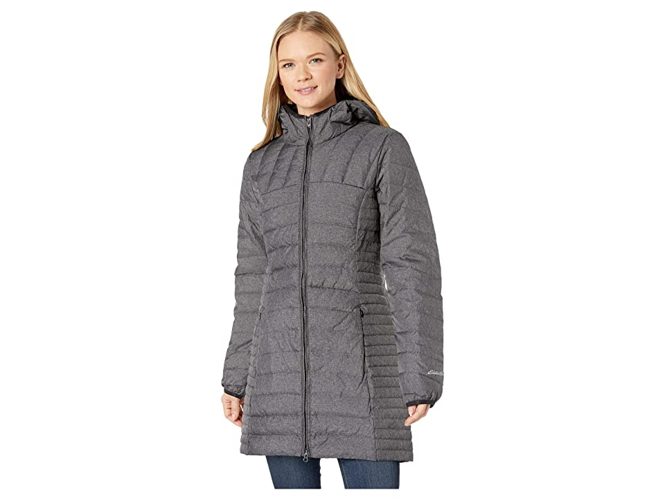 Eddie Bauer Astoria Hooded Down Parka (Dark Charcoal Heather) Women