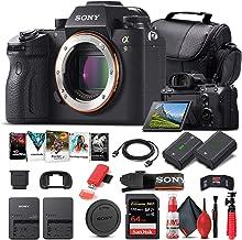 Sony Alpha a9 Mirrorless Digital Camera (Body Only) (ILCE9/B) + 64GB Memory Card + NP-FZ-100 Battery + Corel Photo Softwar...