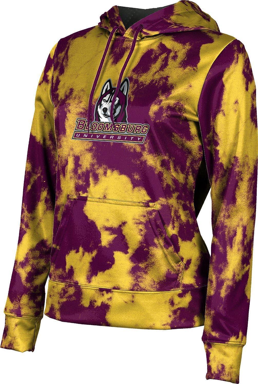 ProSphere Bloomsburg University Girls' Pullover Hoodie, School Spirit Sweatshirt (Grunge)