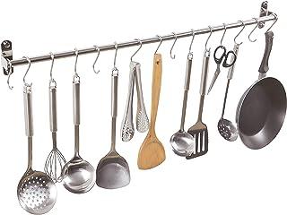 Alicemall Colgador de Utensilios de Cocina de 15 Ganchos de