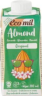 Ecomil Almond Bio Organic Drink, 200ml, Pack of 3, 600ml