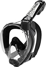 Cressi Duke Full Face Mask - Integral Mask Great Vision Snorkeling with Dry Tube