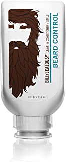 Billy Jealousy Beard Control Leave-In Mens Styling Beard Conditioner with Aloe