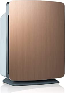 Alen BreatheSmart FIT50 Air Purifier for Bedrooms, Living Rooms, Offices, 900 SqFt. Coverage Area, HEPA Filter for Pollen, Dust, Dander, and Allergies, Brushed Bronze