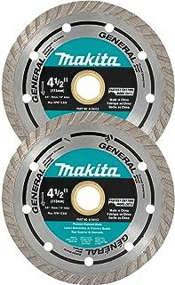 Makita A-97617 General Purpose Turbo Diamond Blade (2 Pack), 4-1/2