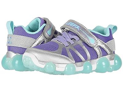 Stride Rite Leepz 3.0 (Little Kid) (Silver/Purple) Girls Shoes