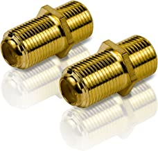 Philips SWV2025W/27 Feed-Thru F Connectors (2 Pack) (Discontinued by Manufacturer)
