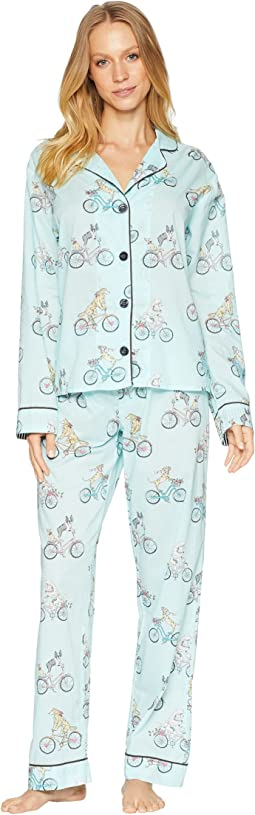 Playful Prints Bicycle PJ Set