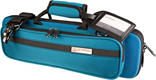 Protec PB308TB Flute Slimline PRO PAC Case, Teal Blue