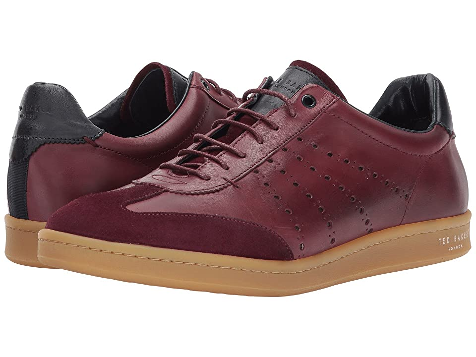 Ted Baker Orlee (Dark Red Leather) Men