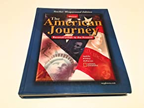 The American Journey: Reconstruction to Present, Teachers wraparound edition
