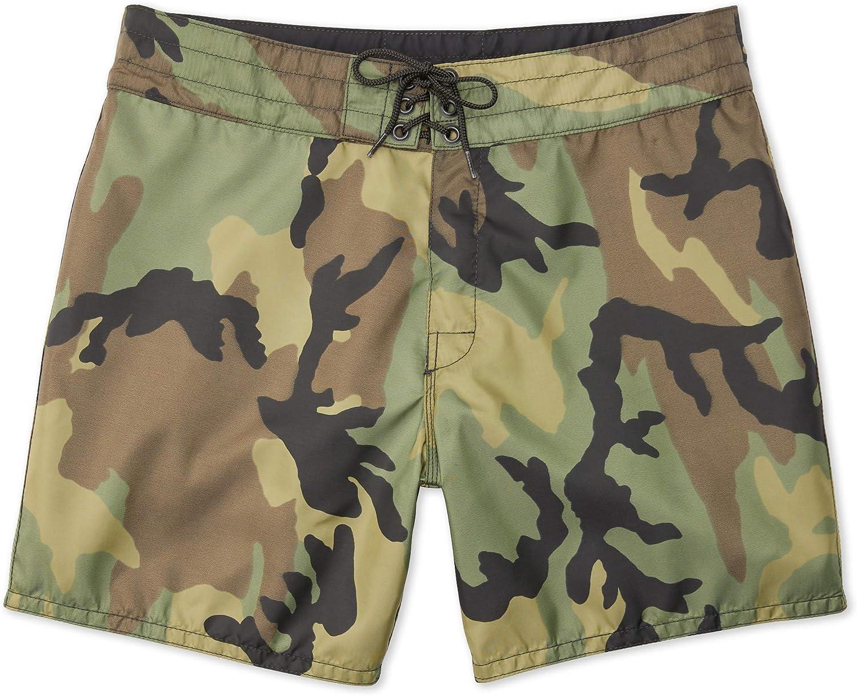 Birdwell Men's 310 Nylon Board Shorts, Short Length