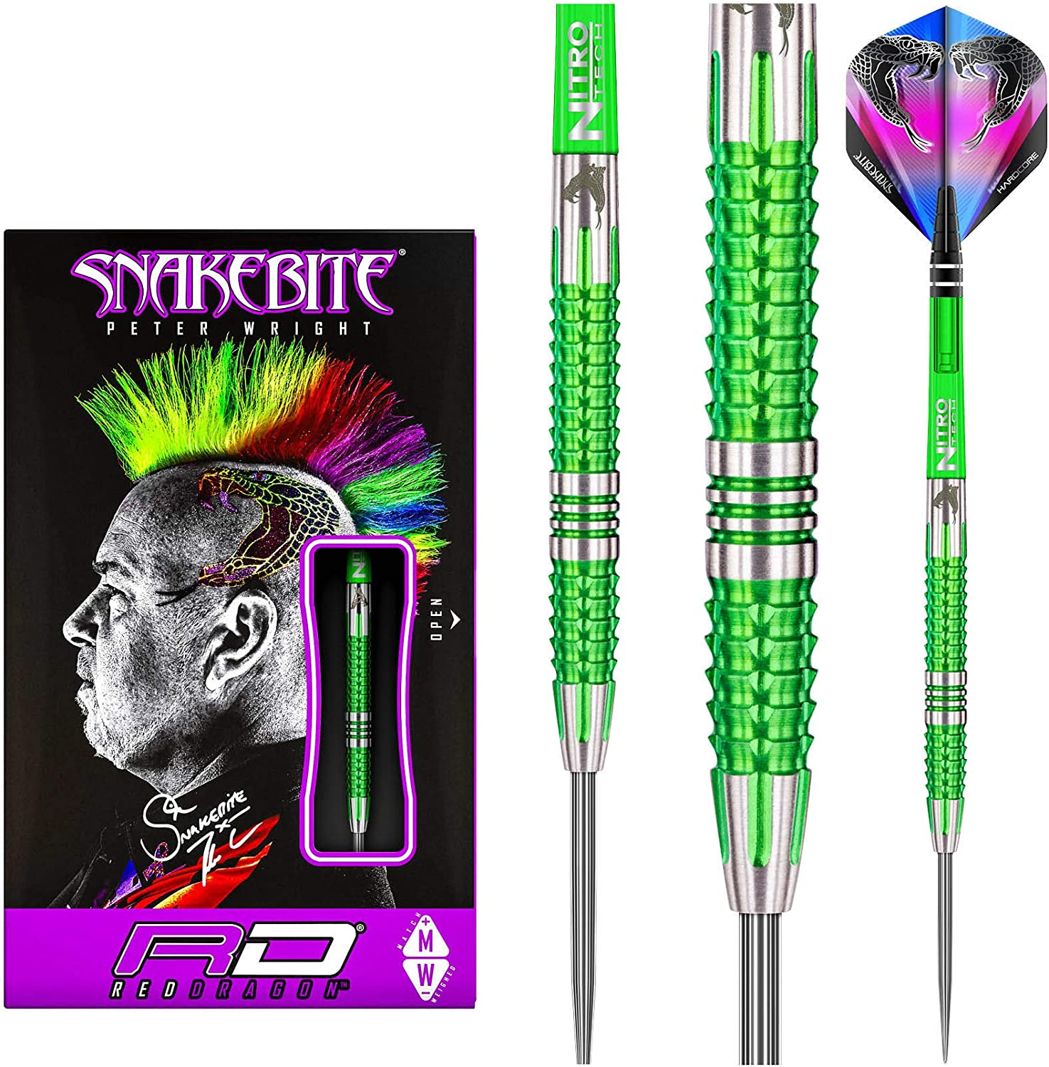 Red Dragon Peter Wright Snakebite Mamba Free Shipping Cheap Bargain Gift 2: or Online limited product 24g 22g Tungsten D