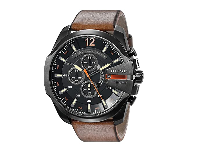 Diesel  Mega Chief (Brown 1) Chronograph Watches