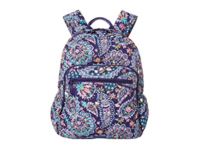 Vera Bradley Campus Backpack (French Paisley) Backpack Bags
