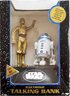 Star Wars Electronic Talking Bank, C3PO and R2D2