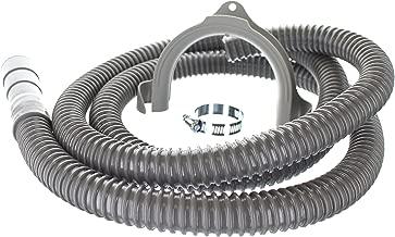 8 ft Heavy Duty Washing Machine Drain Hose | Corrugated Flexible Discharge Design