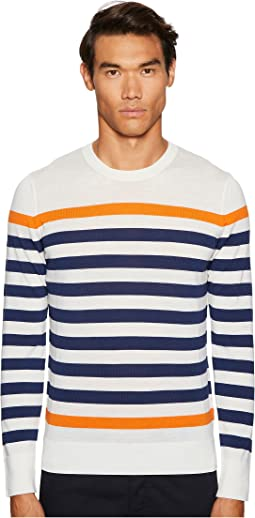 Lucas Block Stripe Sweater